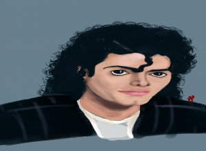 Michael Jackson Portrait Sketch