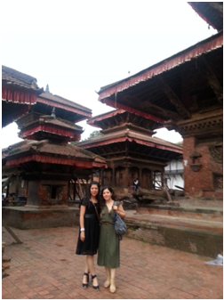 Durbar Meydanı: Pagodalar